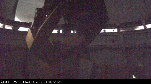 Cebreros Observatory: inside view