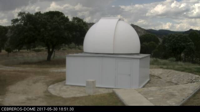 Cebreros Observatory: outside view