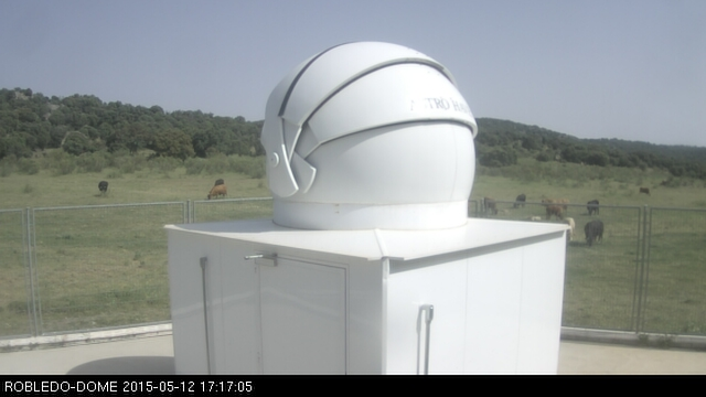 Robledo Observatory: outside view