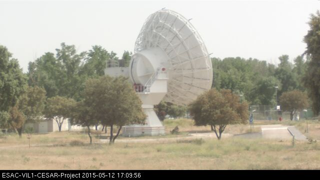 Radio Observatory ESAC: outside view
