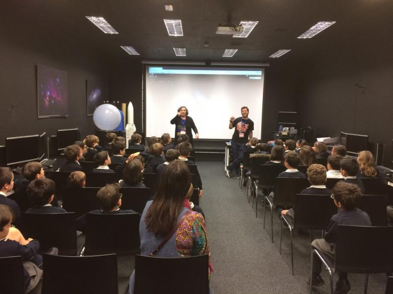 CESAR School Lectures - Mission to the Moon - CEU SAN PABLO